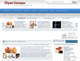diyetuzmani.net screenshot