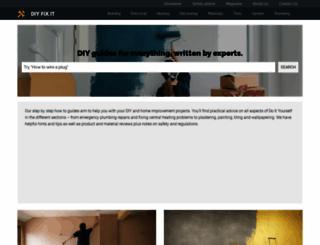 diyfixit.co.uk screenshot