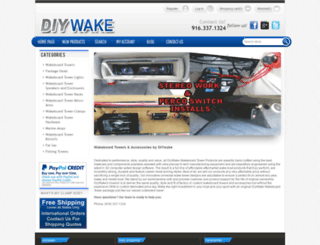 diywake.com screenshot