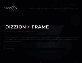 dizzion.com screenshot