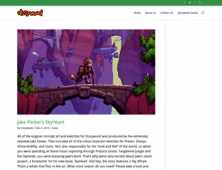 dizzywood.com screenshot