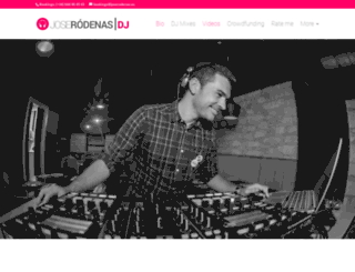 dj.joserodenas.es screenshot