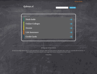 djakman.nl screenshot