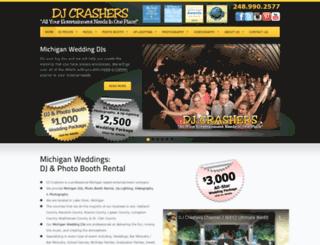 djcrashers.com screenshot
