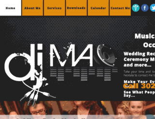 djdelaware.com screenshot