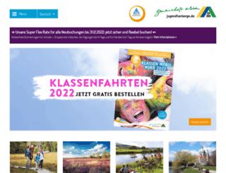 djh-niedersachsen.de screenshot