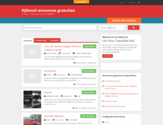 djibannonce.com screenshot