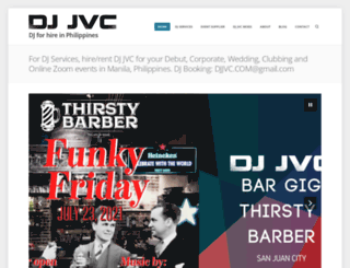 djjvc.wordpress.com screenshot