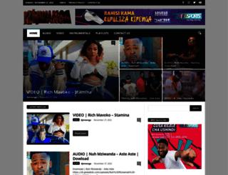 djmwanga.com screenshot
