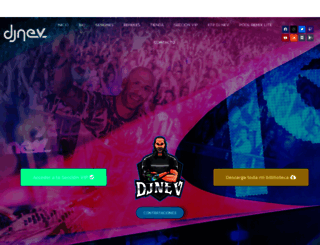 djnev.com screenshot