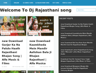 djrajsongs.in screenshot