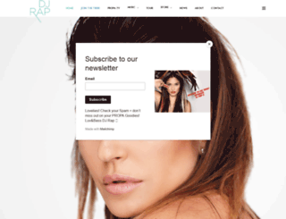 djrap.com screenshot