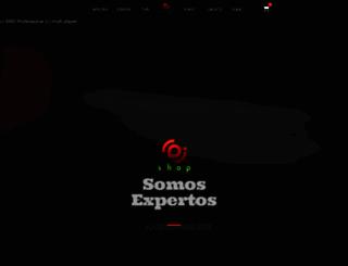 djshop.com.mx screenshot