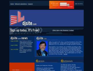 djsite.com screenshot