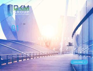 dkmgroup.in screenshot
