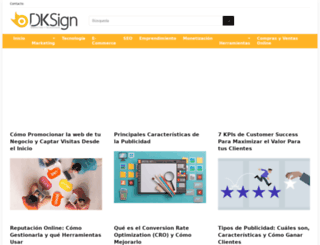 dksignmt.com screenshot