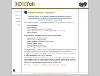 dktek.com screenshot