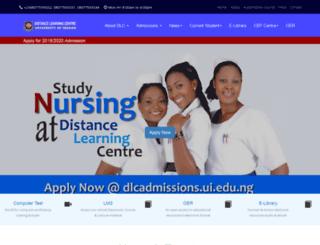 dlc.ui.edu.ng screenshot