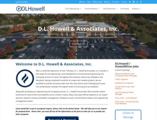 dlhowell.com screenshot