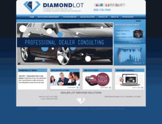 dls.diamondlot.com screenshot