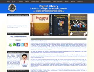 dlsbmscollege.org screenshot