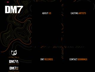 dm7bookings.com.br screenshot
