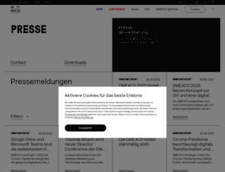 dmexco.mynewsdesk.com screenshot