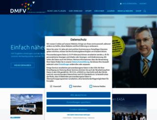 dmfv.aero screenshot
