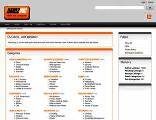 dmozing.com screenshot