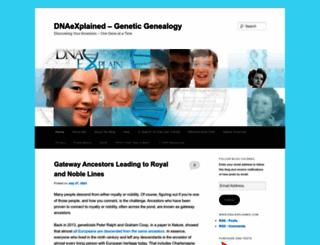 dna-explained.com screenshot