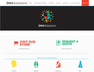 dnasolutionsusa.com screenshot