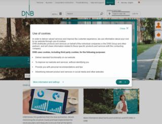 dnbnor.com screenshot