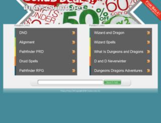 dndiscount.net screenshot