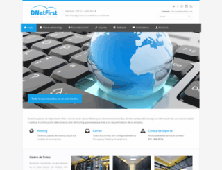dnetfirst.com screenshot