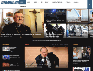 dnevni-list.ba screenshot