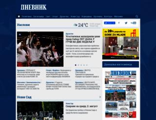 dnevnik.rs screenshot