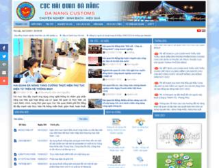 dngcustoms.gov.vn screenshot