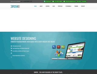 dnrise.com screenshot