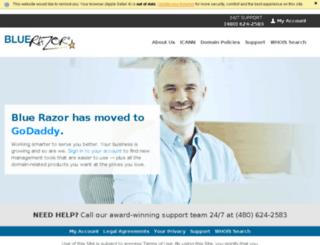 dns.bluerazor.com screenshot