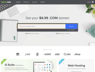 dns02.name.com screenshot