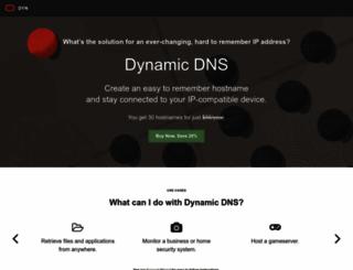 dnsdojo.com screenshot