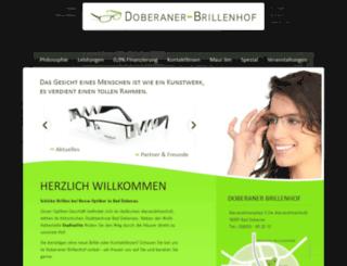 doberaner-brillenhof.de screenshot