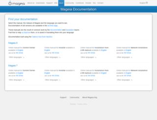 doc.mageia.org screenshot