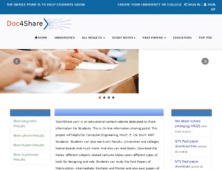 doc4share.com screenshot