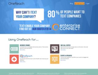 docs.onereach.com screenshot