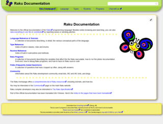 docs.perl6.org screenshot