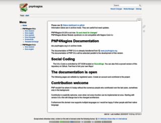 docs.pnp4nagios.org screenshot