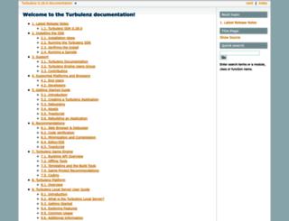 docs.turbulenz.com screenshot
