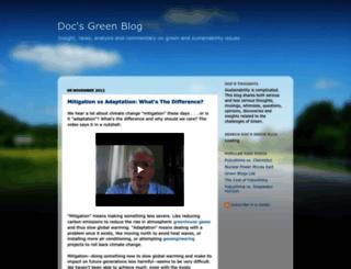 docsgreen.blogspot.com screenshot