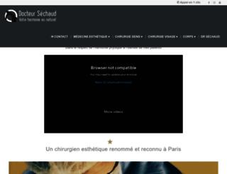 docteur-sechaud.com screenshot